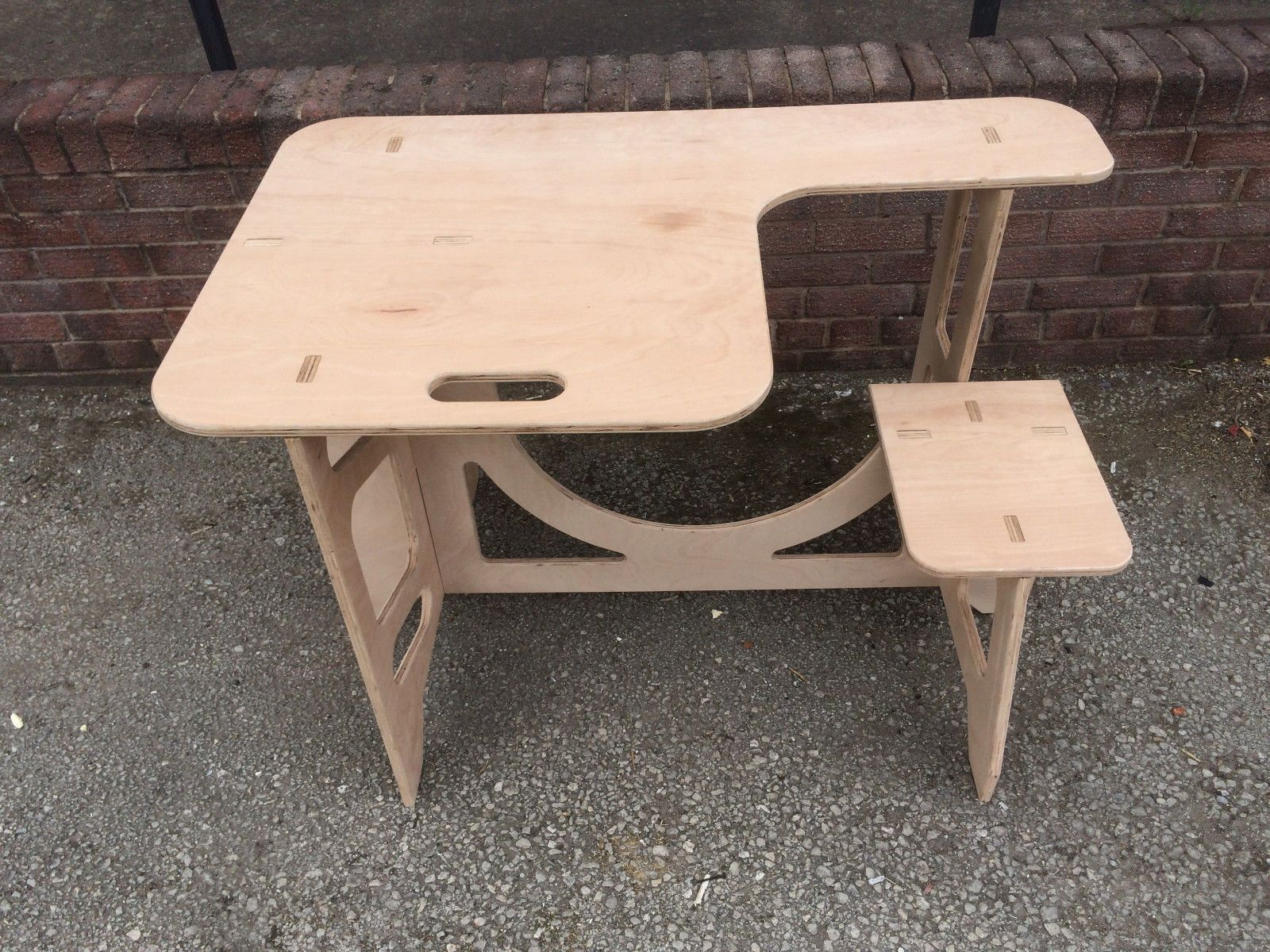 Plywood Portable Shooting Bench Table Foldable Flat Pack